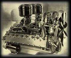 1930's Cadillac V16 Engine