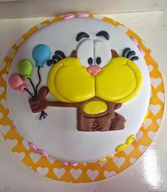 Torta de Gaturro Barbacoa, Cute Cakes, Catering, Kawaii, Desserts, World, Birthday Cakes, Themed Cakes, Sweets