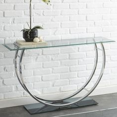 Found it at Wayfair - Granada Hills Console Table Contemporary Bedroom Furniture, Entryway Furniture, Furniture For Small Spaces, Table Furniture, Contemporary Furniture, Living Room Furniture, Furniture Direct, Furniture Sale, Furniture Design