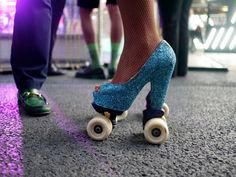Can I make a pair of skates like this?? Get Your Skates On! - The Londoner