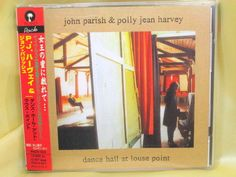 CD/Japan- P J HARVEY & JOHN PARISH Dance Hall At Louse Point w/OBI RARE 1996 #ExperimentalRock