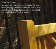 Enhance your home with a wooden gate Gate Design, House Design, Gate Images, Garden Entrance, Wooden Gates, Garden Boxes, Preston, Natural Wood, Fence