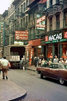 China town-Photos of New York taken in 1971 (9)