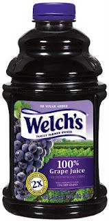 """""""Grape juice (or white grape juice) to avoid the stomach virus.  This works!!! A pediatric nurse told me about this when my son was a baby. Said she didn't know why it worked, but to try it.  It has never let us down not once.  If you know you've been exposed to the stomach virus start drinking grape juice before symptoms start and you will not get it."""" Never heard this before. Worth trying."""
