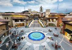 Premium Outlets, Commercial Street, Busan, Retail Design, Architects, Facade, Mall, Times Square, Street View