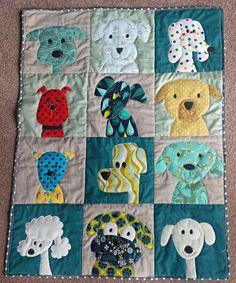 Janette's adorable dog playmat, made for her grandson.