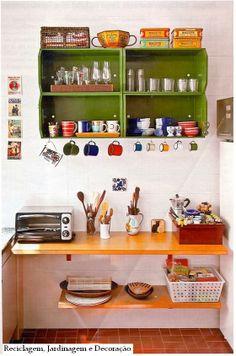 Cozinha para começo de conversa tem que ser boa, bonita e barata ;)