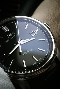 The Ingenieur's genesis dates from 1944 when IWC hired a new technical director, Albert Pellaton. He was responsible for the creation of IWC's first automatic watch. The Ingenieur was viewed by IWC as the automatic and civilian version of the famous Mark XI, a hand-wound antimagnetic classic whose fame and following grew as a modern pilot's watch.