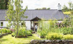 A restored 18th-century Highland croft cottage
