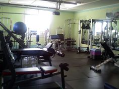 My personal training studio. :D