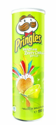 New Pringles Brazilian Zesty Chilli Candy Recipes, New Recipes, Snack Recipes, Pringle Flavors, Junk Food Snacks, Snack Items, Chibi Food, Snack Pack, Food News