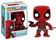 Get the Merc with a Mouth as an adorable stylized Pop! The Deadpool Marvel Pop! Vinyl Bobble Head features one of the wackiest and funniest characters to ever hit the pages of Marvel Comics, Deadpool, as a 3 tall bobble head. Deadpool Funko Pop, Funko Pop Marvel, Marvel Pop Vinyl, Deadpool Stuff, Spiderman Pop Vinyl, Deadpool Movie, Marvel Marvel, Pop Figurine, Friends With Benefits