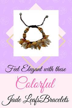 Fall for this autumn leaf bracelet! Brilliant and magnificent colors throughout the bracelet with more than 80 multiple leafs will dangle gracefully on your wrist.
