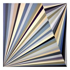 Richard Blanco is a Chicago-based painter whose geometric paintings I'm completely taken with. Some of his abstract works are for sale as prints on Society6, while others remain as paintings on canvas and paper. A lot of his pieces make me feel like I'm staring in a kaleidoscope and I like it!