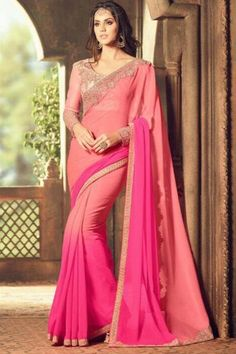 3eb26d65632e0a Attireme.com - Ladies Salwar Kameez | Designer Sarees | Lehanga Choli. Saree  SalePink SareePrinted SareesParty Wear SareesBlouse ...