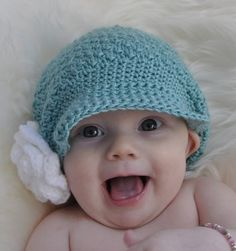 Textured Turquoise Treasure Hat by SunsetCrochet