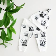 Goldendoodle Print Organic Cotton Baby Hat And Leggings, Golden Doodle Baby Gift, Baby Girl Outfit, Clothes For Baby Boy, New Baby Gift Newborn Hospital Outfits, Doodle Baby, Plush Baby Blankets, 6 Month Old Baby, Baby Fabric, Baby Leggings, Baby Swaddle, Baby Prints, Goldendoodle
