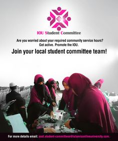 . Community Service Hours, No Worries, Announcement, Promotion, Student