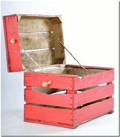 fruit crates kids toy box