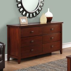 WYNDENHALL Stratford Bedroom Dresser and Media Cabinet | Overstock.com Shopping - The Best Deals on Dressers