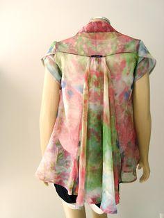 Alinhavos de Moda - Mania de inventar moda.: Manga tulipa... (Pedido de leitora)
