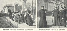 En abril de 1903 llego hasta la Basilica una importante delegacion de peregrinos uruguayos