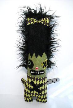 Handmade Monster Plush (Monster Franceline). $75.00, via Etsy.