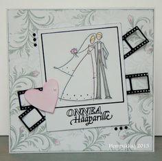 polaroid wedding card