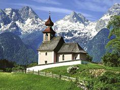Auer Church, Lofer, Austria,