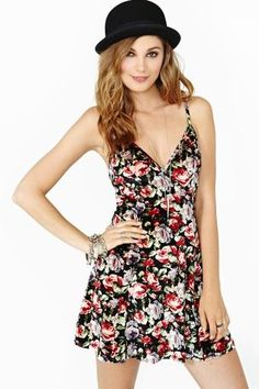 Fine Romance Velvet Dress... no hat