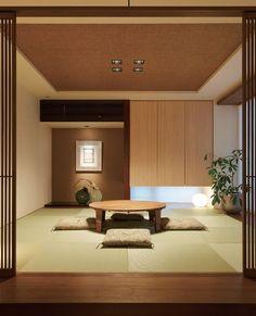 関連画像 Modern Japanese Interior, Japanese Interior Design, Japanese Home Decor, Japanese Modern, Japanese House, Modern Interior, Japanese Design, Japan Room, Asian House