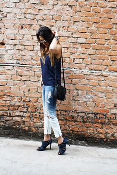 ityourself-lele-gianetti-look-do-dia destroyed jeans ankle boot fashion style