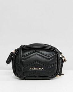 Valentino by Mario Valentino - Camera - Sac bandoulière à chevrons - Noir