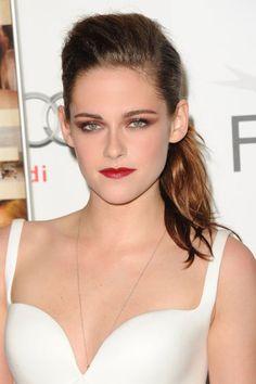Lady is a Vamp: Best Dark Lips of 2012 - Kristen Stewart