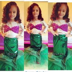 Ariel – The Little Mermaid DIY Costume for a Toddler Girl... Coolest Homemade Costumes