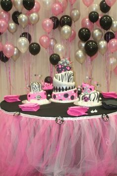 Sweet 16 Table Decoration Ideas find this pin and more on sweet 16 ideas Sweet 16 Birthday Party Table Who Would Not Feel Like A Princess