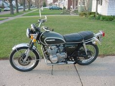 Looking back at pictures of my 40 year old motorcycle.  A 1972 Honda CB500.  I've ridden it across the United States 2,600 miles and fixed many parts over the years.
