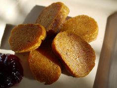 Vegetarian kishke recipe--with matzoh meal instead of wheat flour, this can become a Passover dish Kosher Recipes, Gourmet Recipes, Vegetarian Recipes, Cooking Recipes, Kosher Food, Peasant Food, Matzo Meal, Jewish Recipes, Israeli Recipes