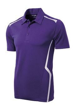 Sport-Tek Mens Vector Sport Wick Short Sleeve Polo Shirt ST670 Polo Shirt Women, Polo T Shirts, Short Sleeve Polo Shirts, Staff Uniforms, Sport Wear, Printed Shirts, Tennis, Thailand, Shirt Designs