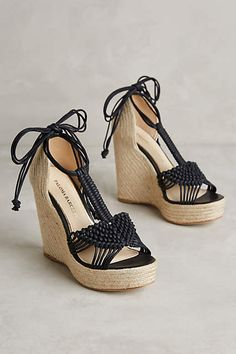 Paloma Barcelo Lucca Wedges - #anthroregistry