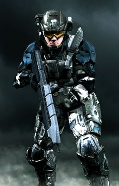 UNSC Army Soldier 2 by LordHayabusa357.deviantart.com on @deviantART