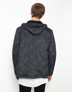 Blusão estampado cósmico - Homem - Bershka Portugal