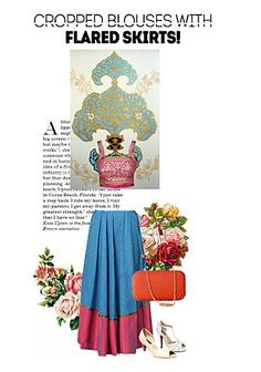 Exclusive Look by soumya singh Flare Skirt, Vip, Summer Dresses, Skirts, Scrap, Android, How To Wear, Shopping, Medium