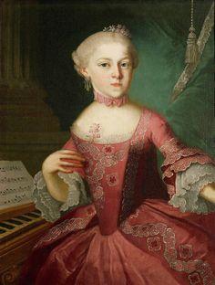 La historias de Maria Anna Mozart, la hermana mayor de Wolfgang Amadeus Mozart, quien se vio orillada a dejar su pasión por cumplir con sus obligaciones.