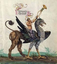 Background: bibliodyssey.blogspot.com/2010/10/triumphal-maximiliano.html