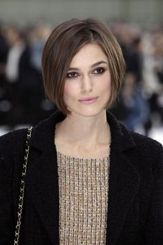 ... Knightley Short Stacked Hairstyles Short Hairstyles For Women hair
