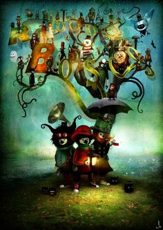 Alexander Jansson | ALEXANDER JANSSON: Children's Book Illustrator, Fantasy Illustration ...