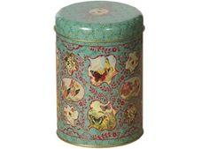 nostalgic cilinder tin box froy