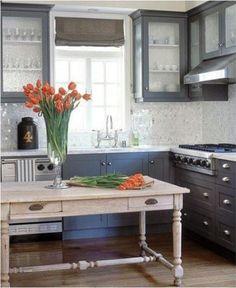 roman shade gray cabinets decorpad