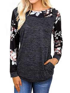 TOPUNDER Winter 3D Plant Flowers Printed Long Sleeve Hooded Sweatshirt Tops Blouse Mens